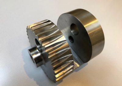 Mécanique industrielle en acier ou inox